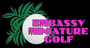 Embassy Miniature Golf Logo