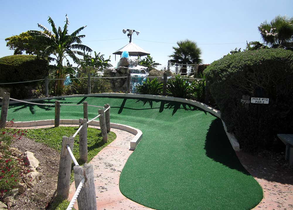 San Antonio Mini Golf Green