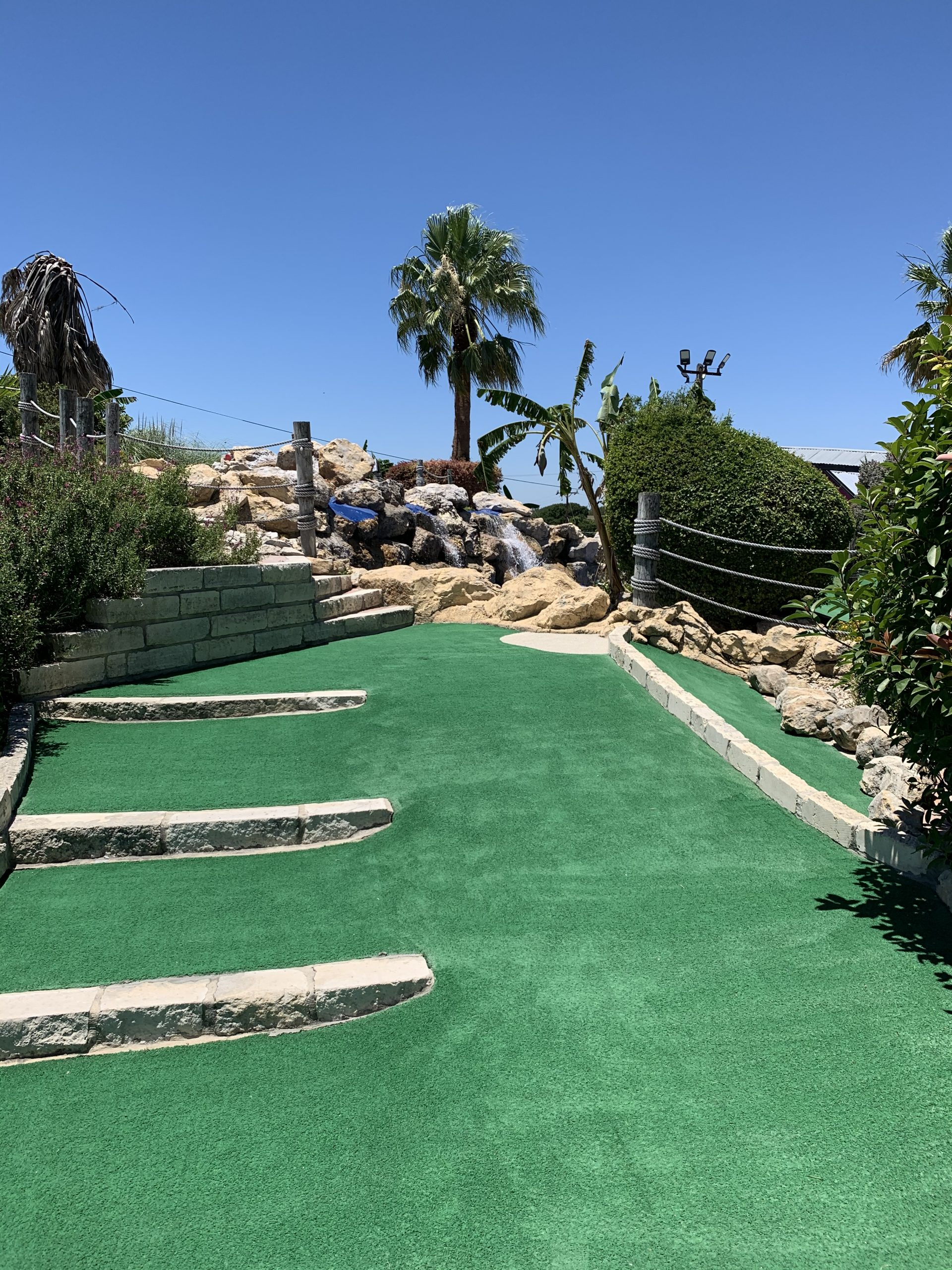 embassy mini golf course greens